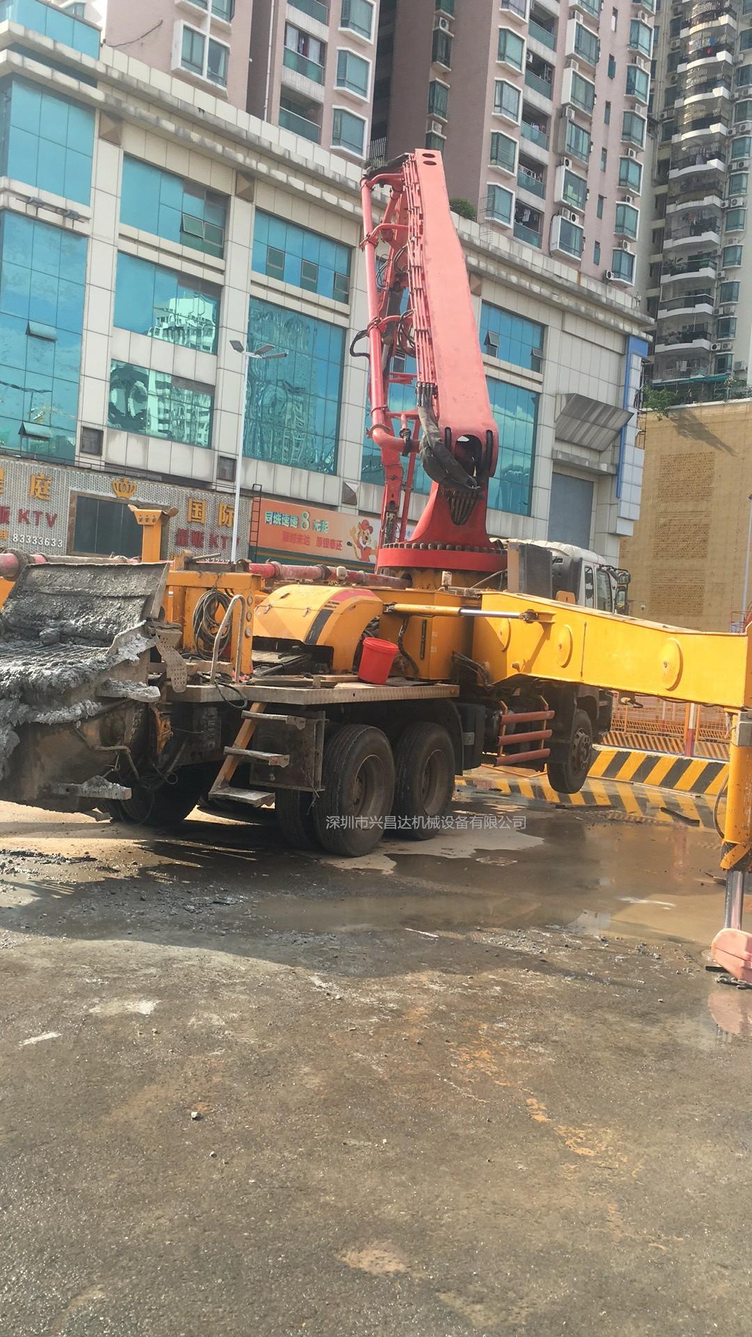 兴昌达2011年底46米三一重工混凝土泵车
