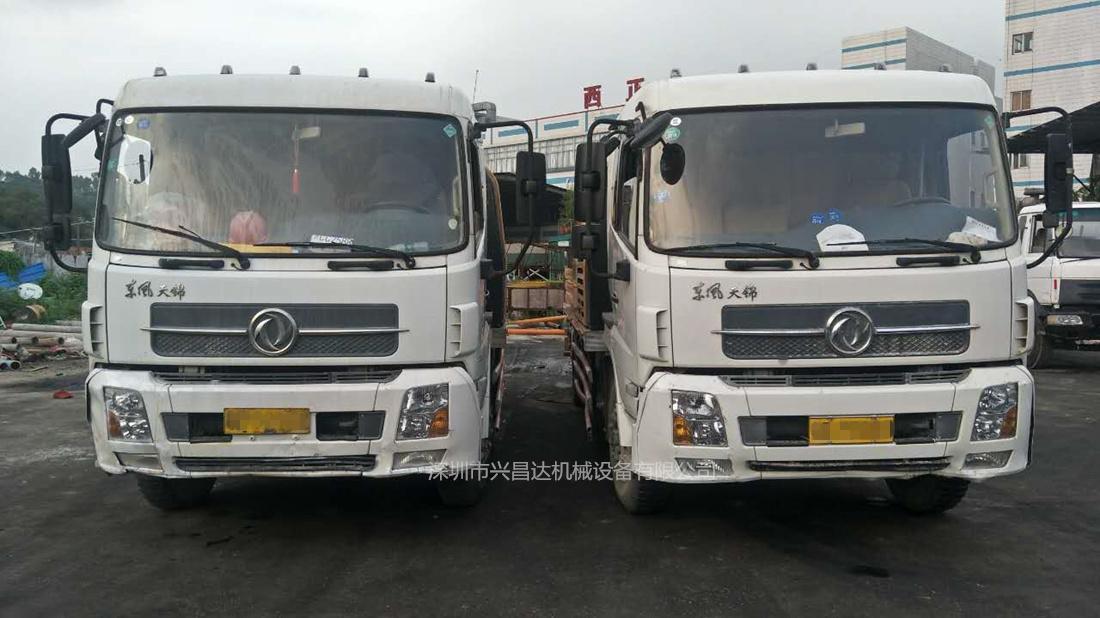 兴昌达两台2014年三一重工国四10020混凝土车载泵 C8系统