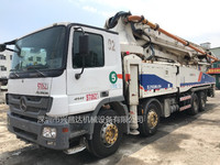 2012年10月份中联重科52米奔驰底盘泵车