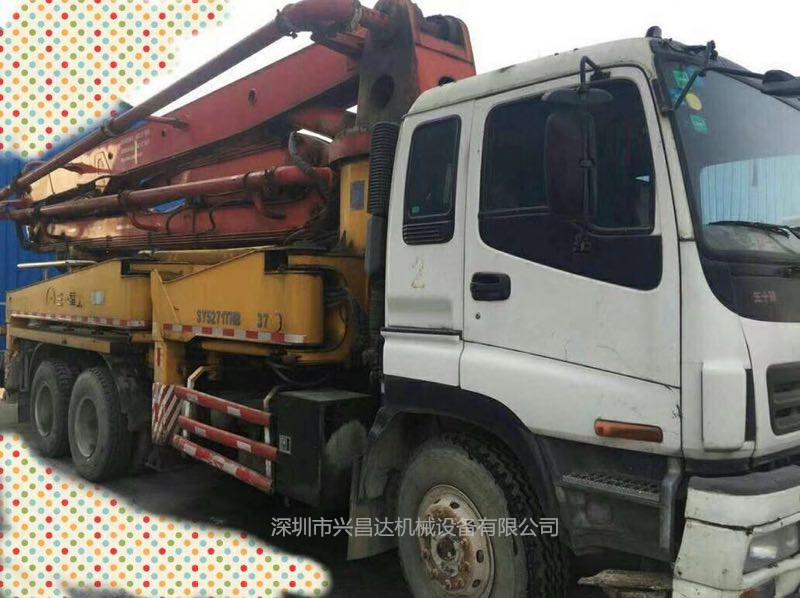 2008年三一重工37米泵车,工作12万方,车况好