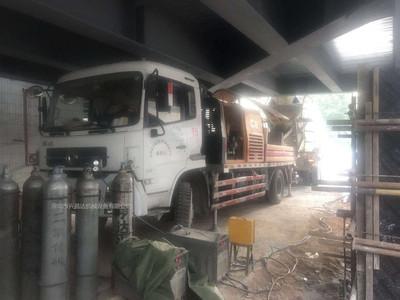 2014年三一重工c8车载泵