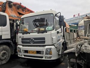 2015年国四三一重工c8车载泵,东风天锦底盘