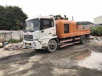 2014年出厂年底上牌中联重科国四车载泵