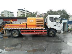2014年三一重工10020国四c8车载泵,三一自制底盘