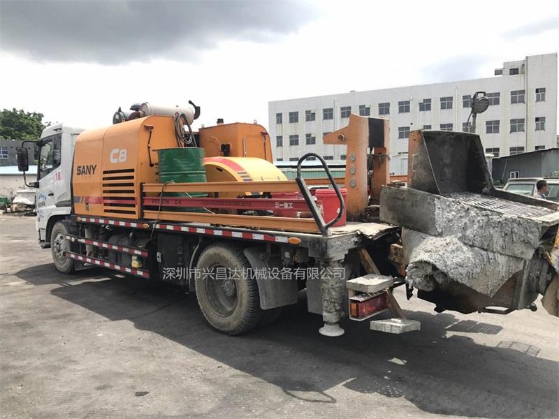 兴昌达2015年三一重工国四c8高压混凝土车载泵10020