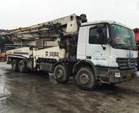 2007年中联重科国三奔驰底盘44米泵车