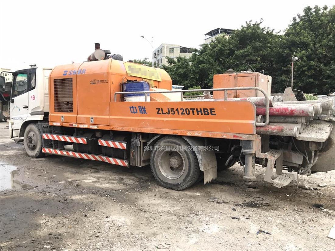 兴昌达2014年出厂年底上牌中联重科国四混凝土车载泵