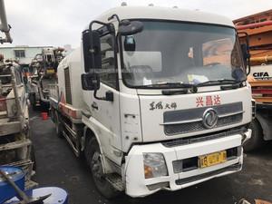 2012年国三绿标中联重科车载泵9014,东风天锦底盘