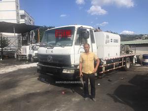 已售出:中联重科车载泵