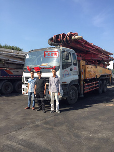 已售出:三一重工泵车