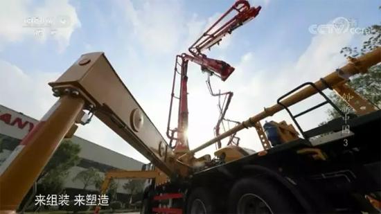 三一重工混凝土泵车