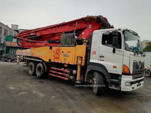 2013年三一重工C8日野49米泵车,同年9月份上牌