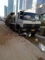 2010年9月份中联重科9014车载泵,国三绿标