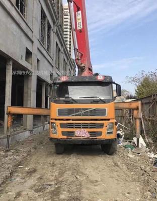 2010年37米三一重工上装富豪底盘泵车