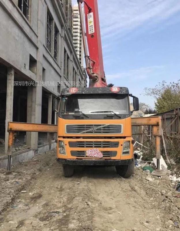 2010年37米三一重工上装富豪底盘泵车,价格合适