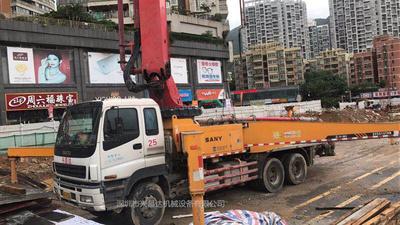2011年底三一重工46米泵车,三桥五十铃