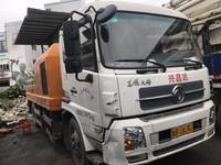 2014年中联重科车载泵10014,东风天锦底盘