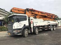 2011年年底绿标52米cifa中联重科泵车,斯堪尼亚底盘